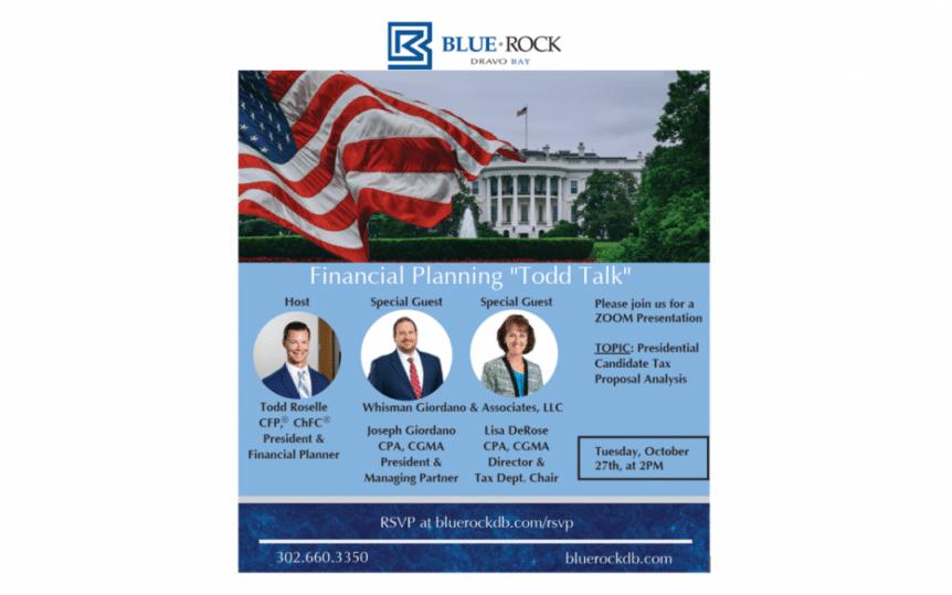 Presidential Election Tax Analysis